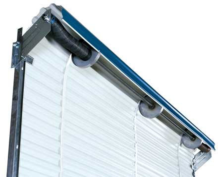 commonly used on storage sheds and boat houses rollup doors can be a great choice when needing a larger opening on a building but a sliding door is not a