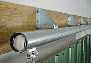 Using trianlge brackets when installing Bolt Hung Track offers greater flexibility. & Products - Cannonball: building product supplier