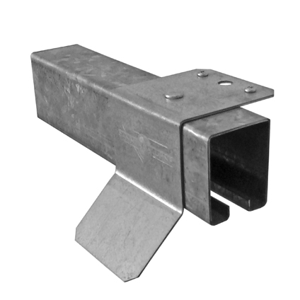 Square Track With Top Mount Brackets